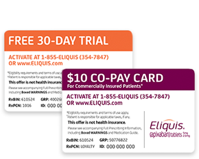 Physician And Staff Resources Rx Eliquis Apixaban