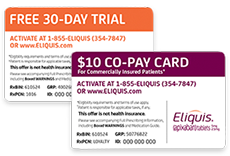 Eliquis Co-Pay Card And 360 Support Carousel Image